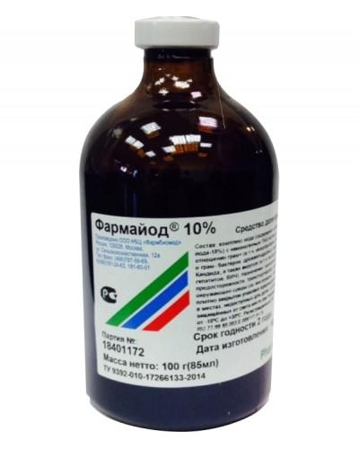 ФАРМАЙОД 10% Биохимтех 85мл/28