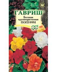 БЕГОНИЯ ПОПУРРИ (клубневая) 4шт/20