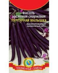 ФАСОЛЬ (ПС) ПУРПУРНАЯ МАЛЫШКА (кустовая) 10шт/10