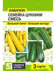 КАБАЧОК (СА) СЕМЕЙКА ЦУКИНИ 6г/10